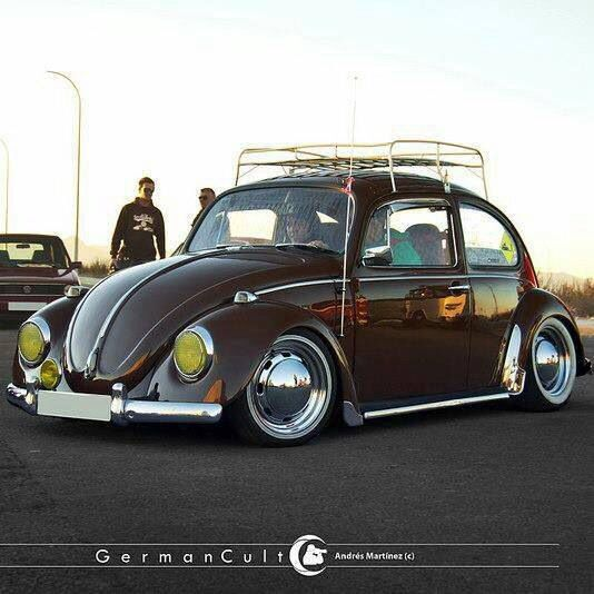 Volkswagen Beetle Retro 4k Hd Wallpaper: Pin De Iván López En VW