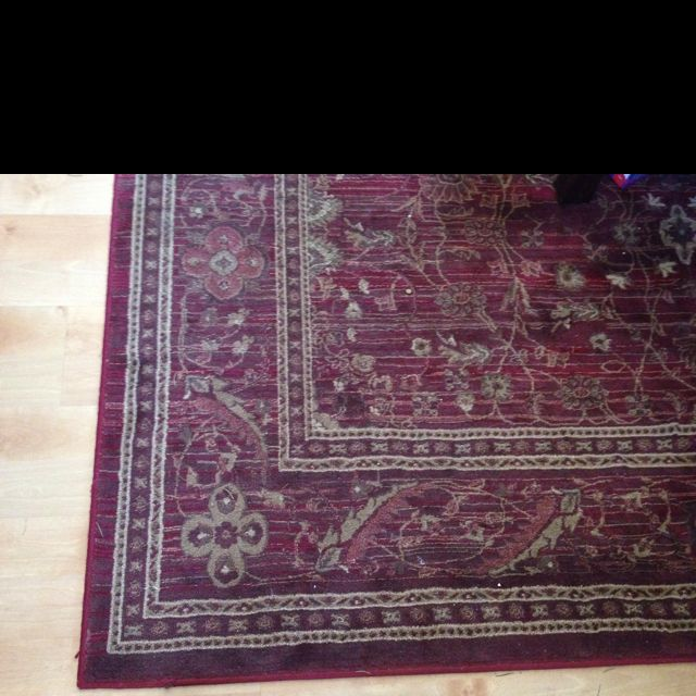 Rug That Will Be In Front Of Fireplace Area.