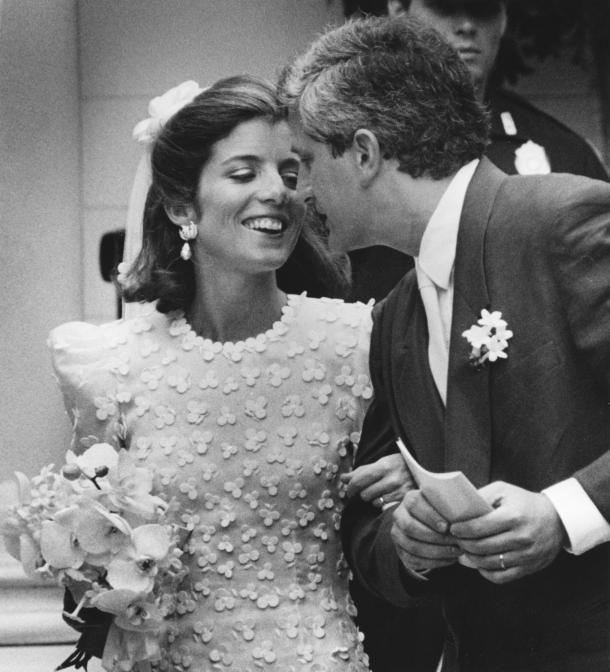 Caroline kennedy 39 s wedding dress caroline kennedy and for Tatiana schlossberg wedding dress