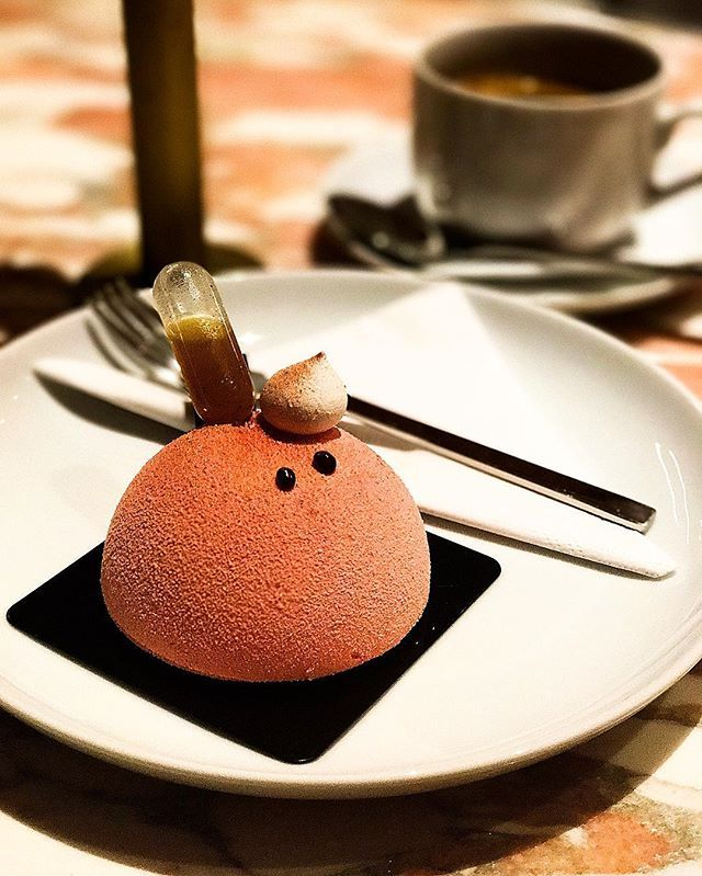 Delicious piece of pastry art #fanofcooking#dessert#desserttime#monoportion#modernpastry#pastry#patisserie#nanan#nananwroclaw#slodkinanan#foodoftheday#dessertoftheday#passionfruit#marakuja#muscovado#caramel#rum#mascarpone#cospysznego#