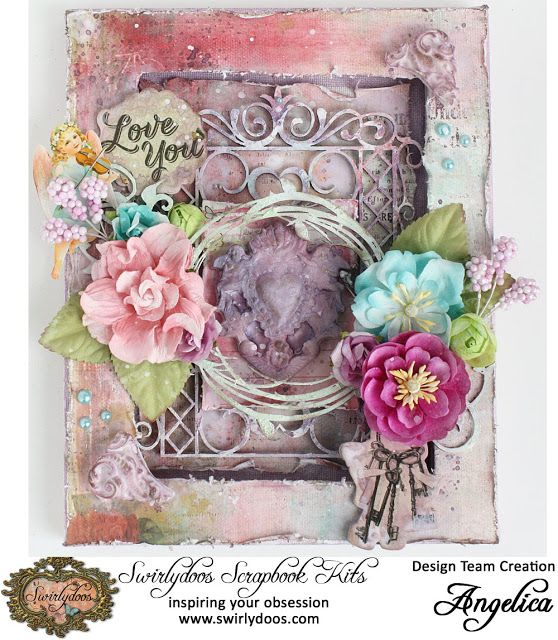 Swirlydoos Scrapbook Kit Club 2nd Reveal And Tut Weds
