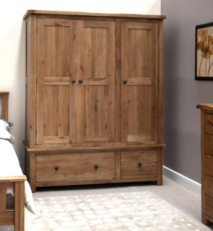 Grey bedroom interior design rustic wooden wardrobe plans to dos from wife pinterest for Wooden wardrobe designs for bedroom