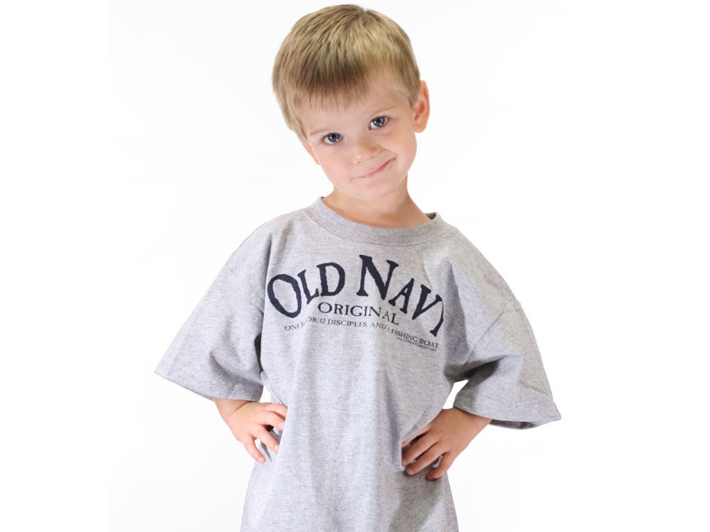 One Savior & A Fishing Boat T-shirt - Kids