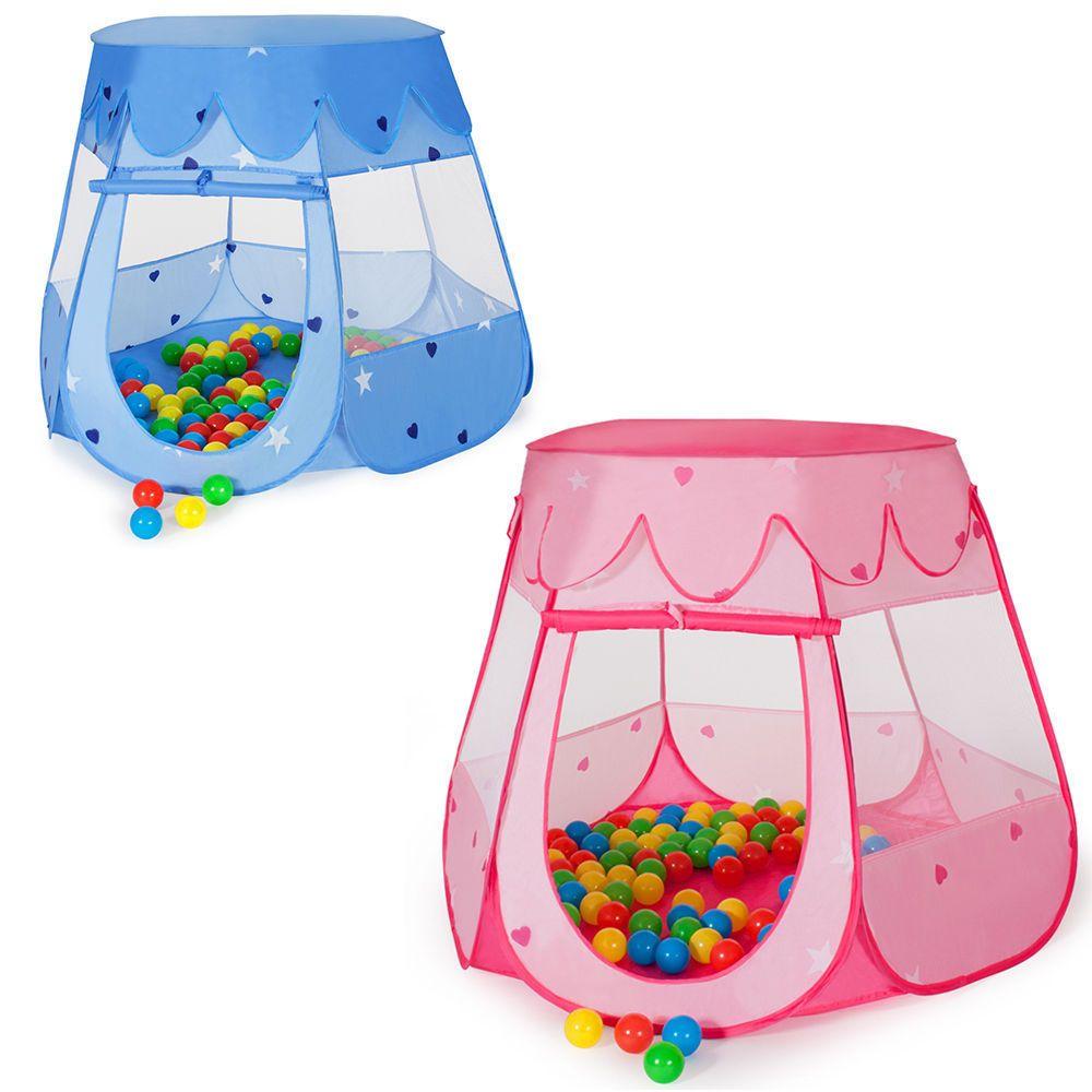 Kids play castle tent children ball pit playhouse indoor outdoor