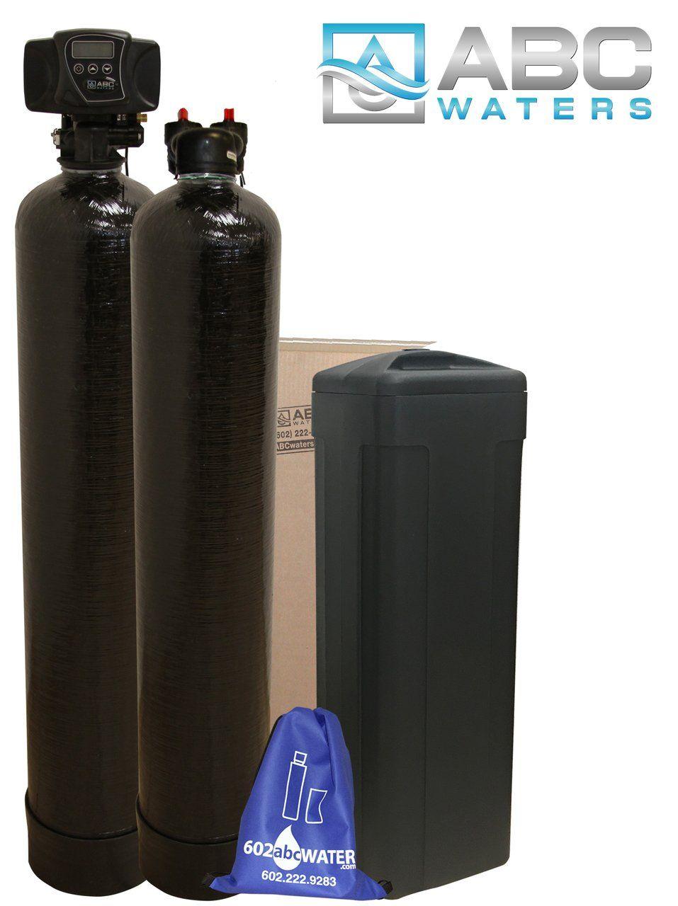 Fleck 5600SXT 32,000 grain w/ 1 cu. ft. Upflow Carbon Tank