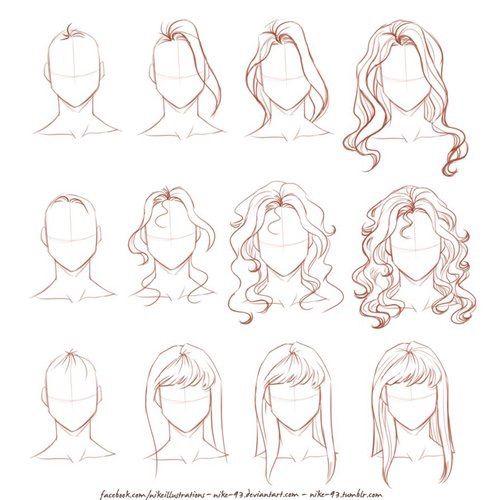 Image via We Heart It #diy #draw #drawing #girl #head #tutorial