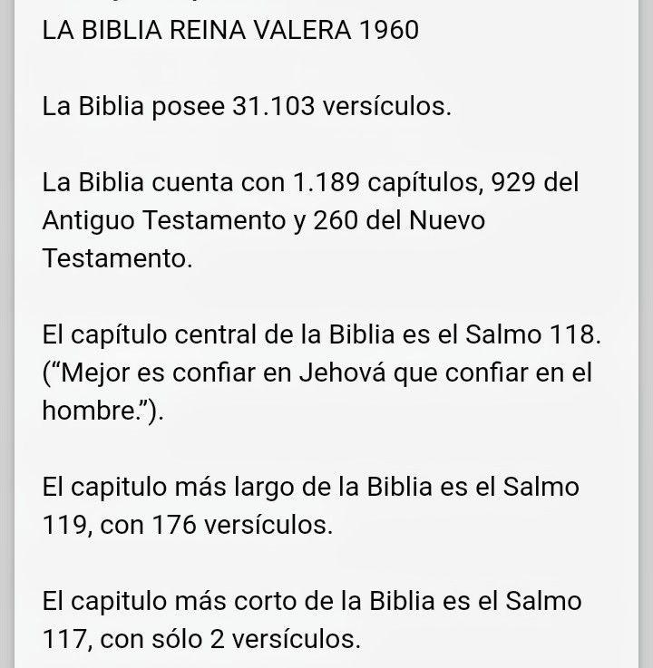 Biblia Reina Valera Cuántos Versículos Tiene Cuántos Capítulos Tiene Cuántos Capítulos Tiene Biblia Biblia Reina Valera 1960 Versículos De La Biblia