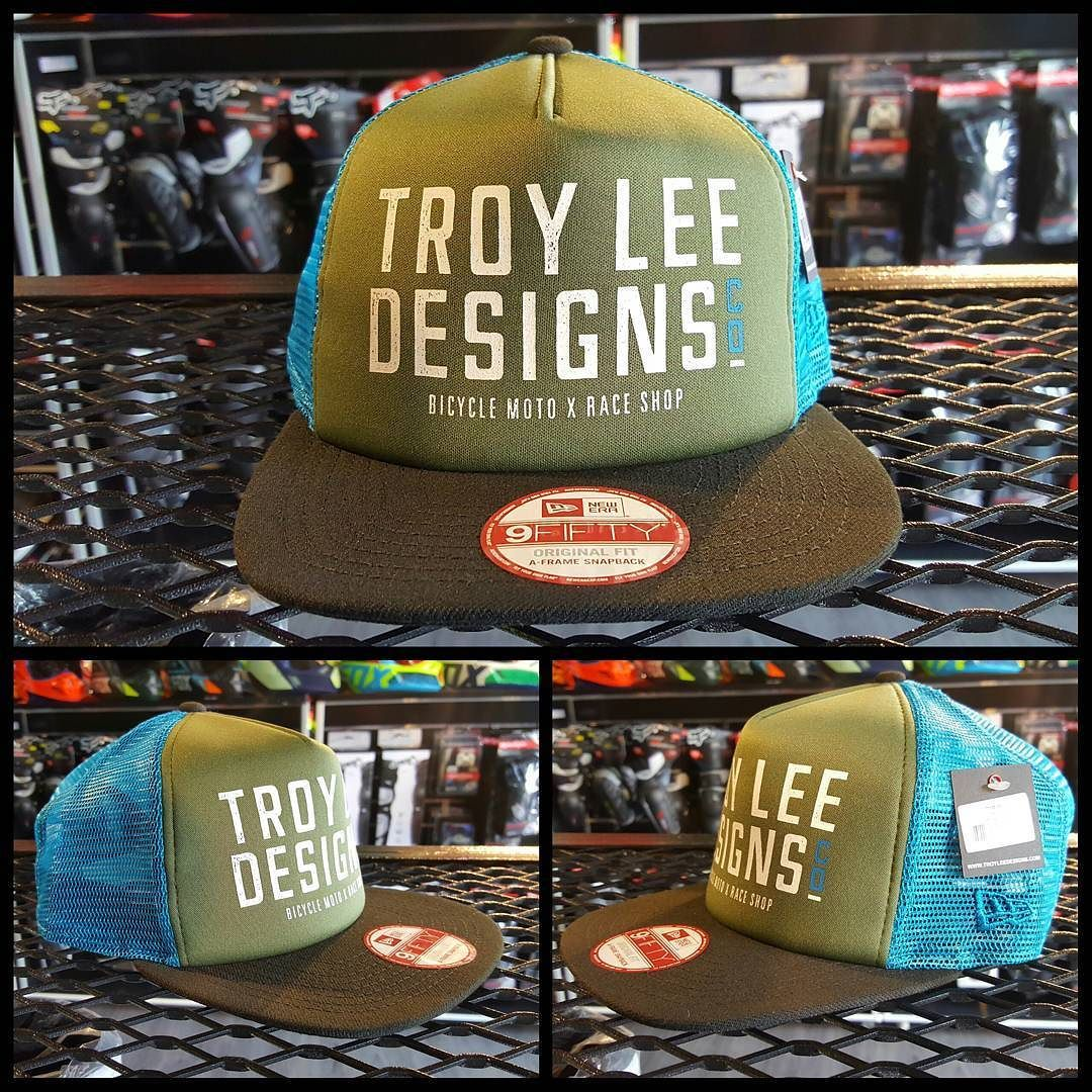 TROY LEE DESIGNS STEP UP NEW ERA HAT Features   - New Era 39THIRTY stretch  fitted hat. - 97% Polyester  3% Spandex with TLD signature high-density ... e14c048518d