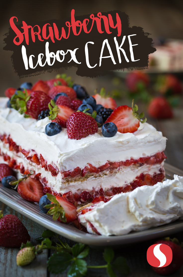 Have your cake and eat it too! This Strawberry Icebox Cake is perfect for your Labor Day celebration. #labordaydesserts