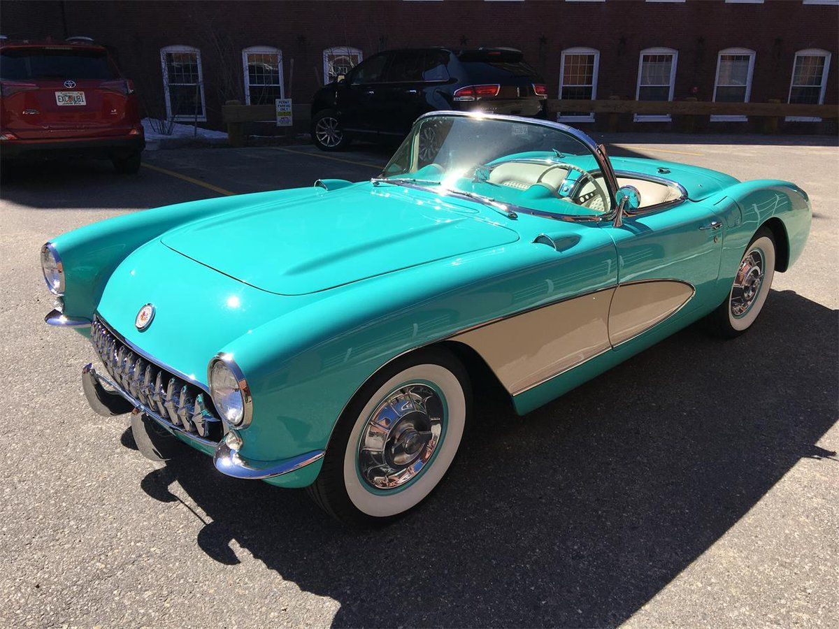 1956 Chevy Corvette Convertible | Classic Cars | Pinterest ...