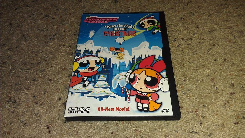 Ppg Twas The Fight Before Christmas.The Powerpuff Girls Twas The Fight Before Christmas Dvd