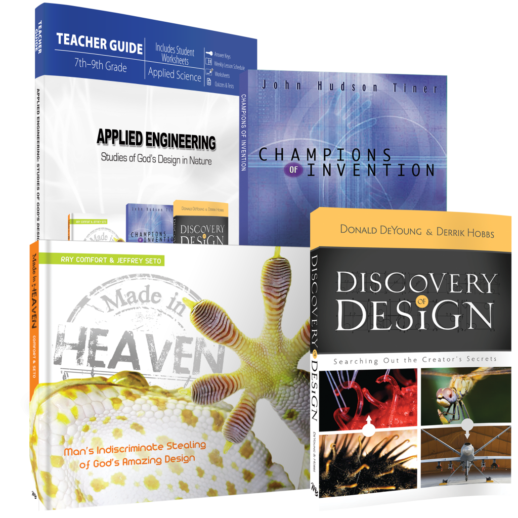 Science By Design Curriculum: Applied Engineering: Studies Of God's Design In Nature