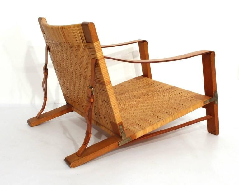 Extremely Rare Børge Mogensen Hunting Chair by Cabinetmaker Erhard Rasmussen 6
