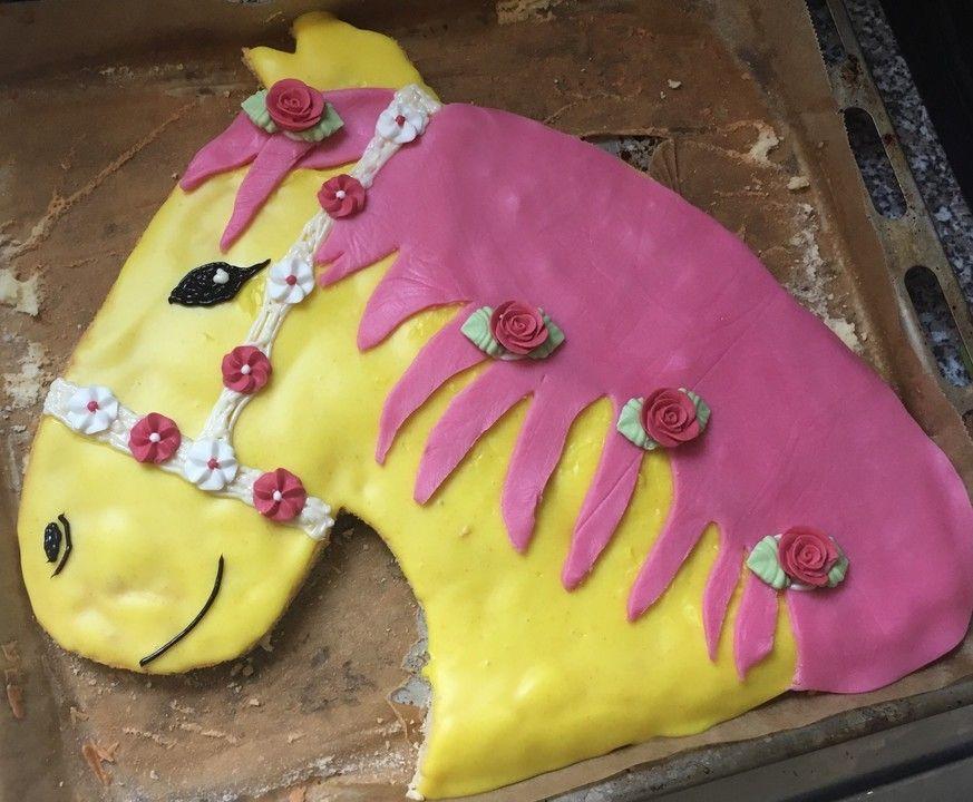 Pferdekuchen á la Belana für den Kindergeburtstag | Pinterest | Babies