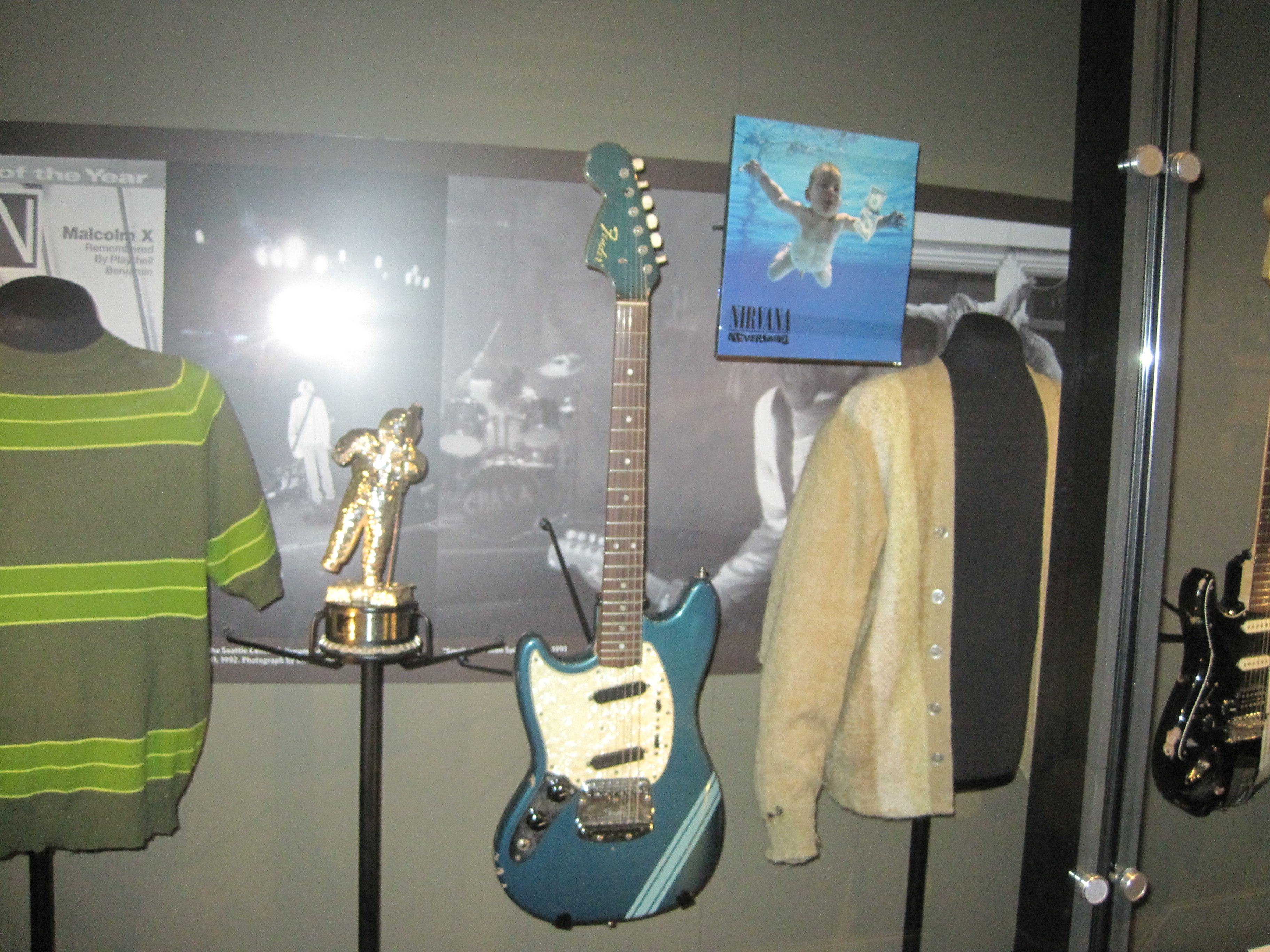 EMP Musem Nirvana Nevermind Kurt s Clothes Guitar
