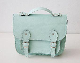 Bag number 3 leather satchel shoulder strap (Handmade to order)