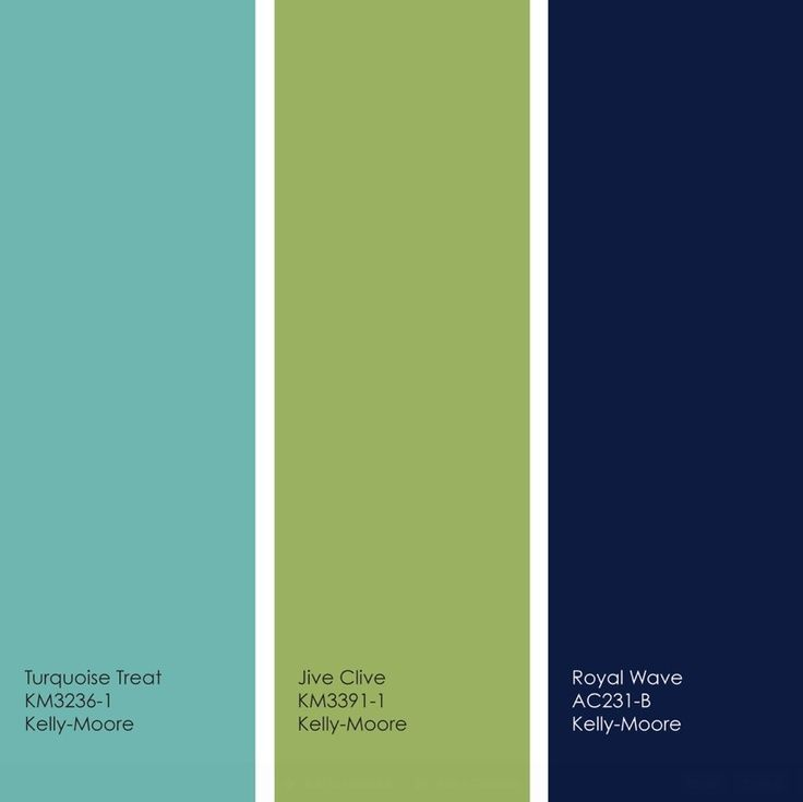 Best Colour Combination For Home Interior: Pretty Turquoise/lime/navy Palette