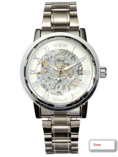 Men's Luxury Stainless Steel Wrist Watch