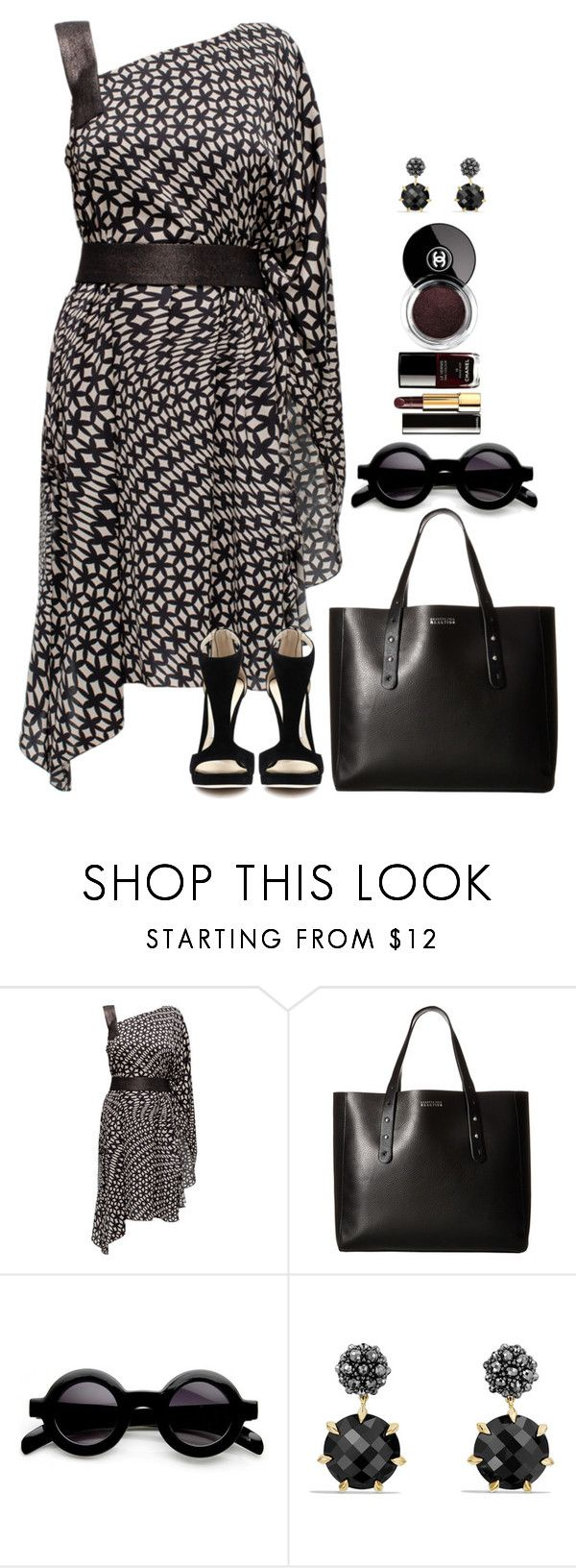 """Untitled #6846"" by lisa-holt ❤ liked on Polyvore featuring Lattori, Kenneth Cole Reaction and David Yurman"