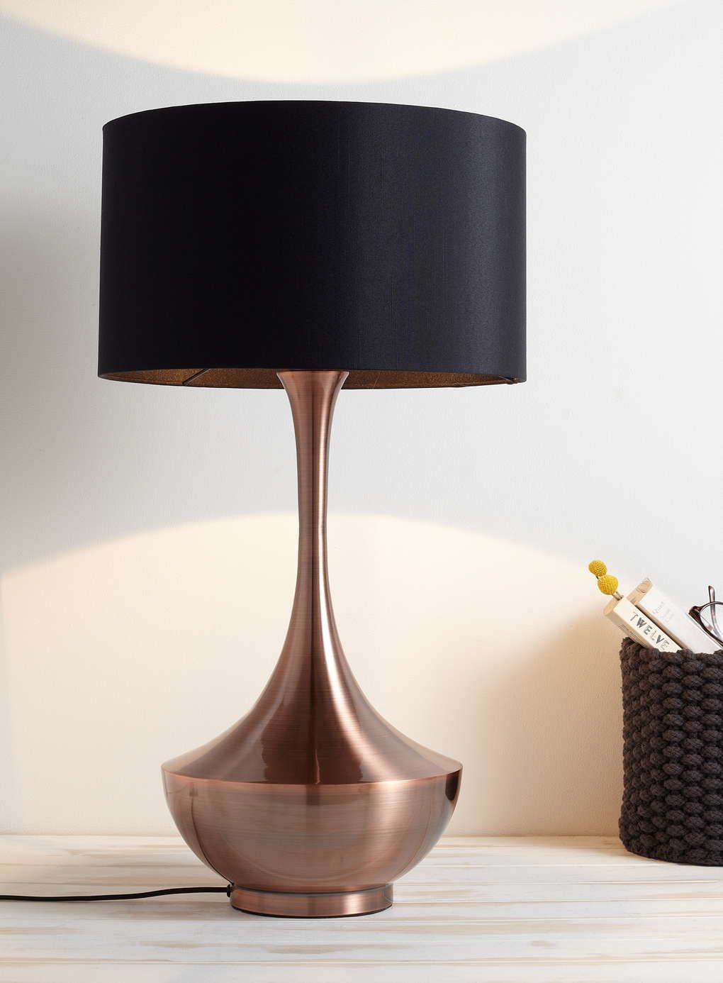 Copper Brock Table Lamp Bhs Copper Table Lamp Table Lamp
