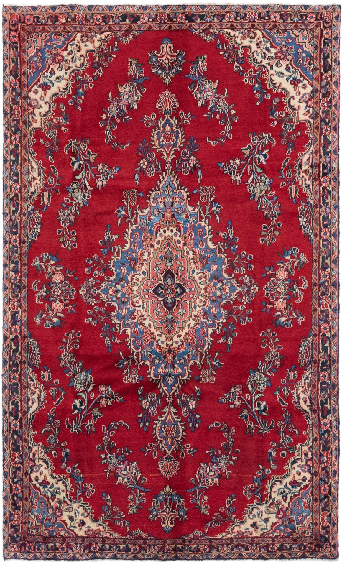 Shahrbaft Navy Blue Antique 7x10 Area Rug In 2020 Persian Rug Rugs Antique Persian Rug