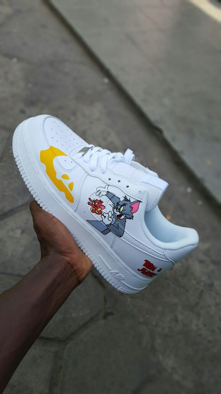 Airforce One Tom and Jerry Available For men whatsapp 0246751007