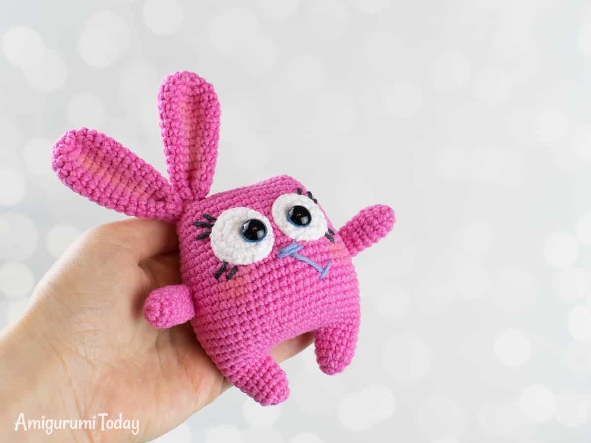 Crochet Easter Bunny - Patrón gratis de Amigurumi hoy | Patrones ...