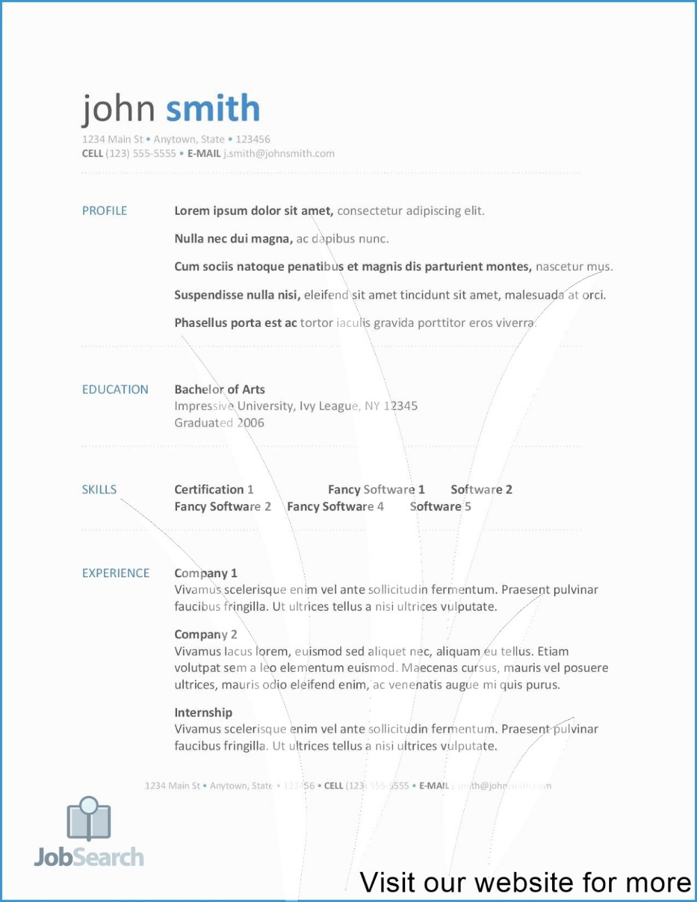 google free resume templates google docs free resume