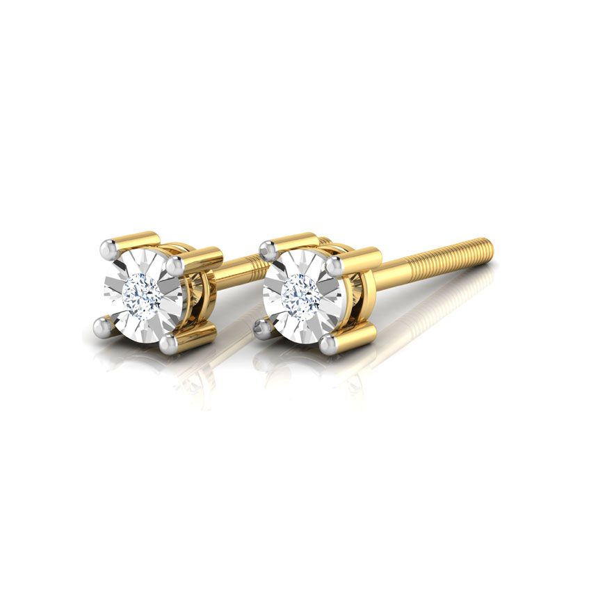 Emily Stud Earrings India Online - CaratLane.com | Gems ...