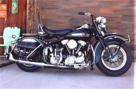 1940 harley davison   photo of a 1940 harley-davidson 61 ...