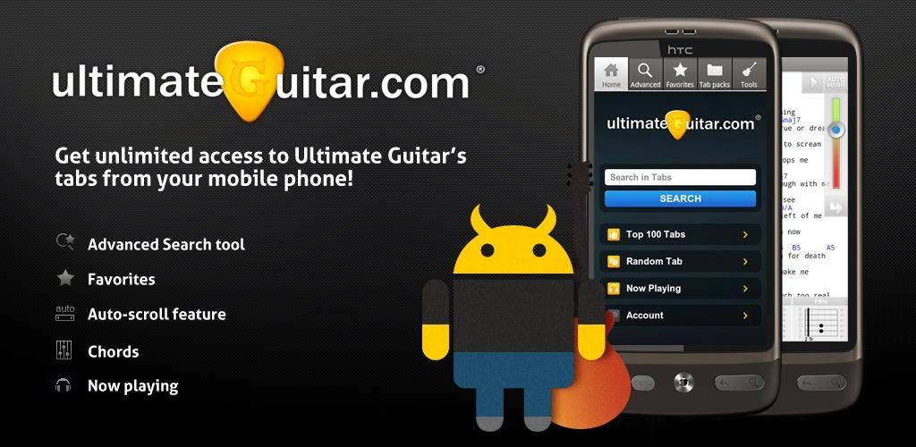 Ultimate Guitar Tabs & Chords v3.5.5 APK Free Download | Andriod ...