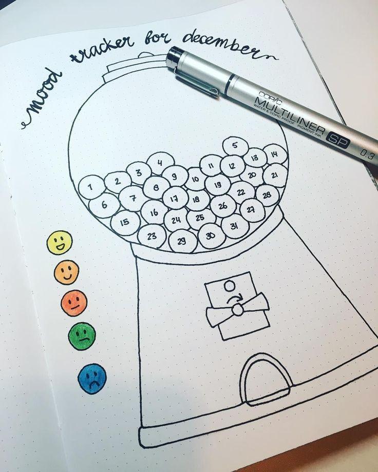 Einfache Bullet-Journal-Ideen zur Organisation und Beschleunigung Ihrer ehrgeizigen Ziele #bulletjournal