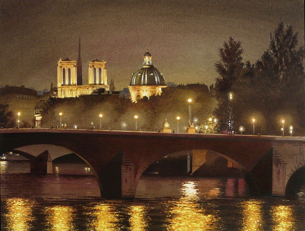 Thierry Duval 1957 In 2020 Paris Painting City Art Watercolor