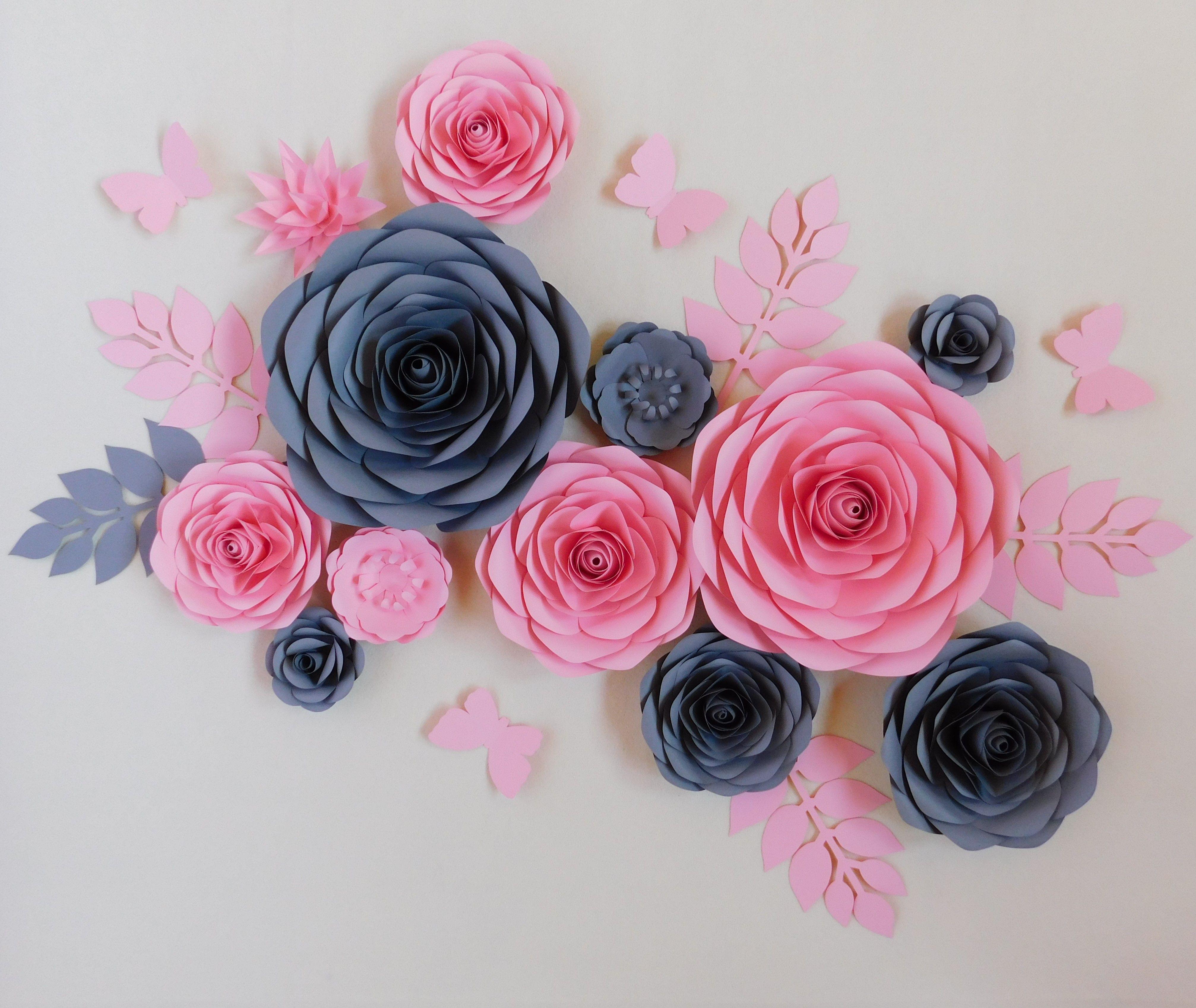 Kwiaty Z Papieru Paper Flowers Kwiaty Chanel Paper Flowers Flower Backdrop Flower Wall