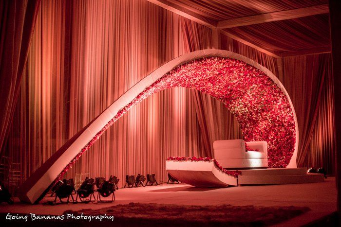 a stunning color riot with super creative decor - Indian Wedding Decorations