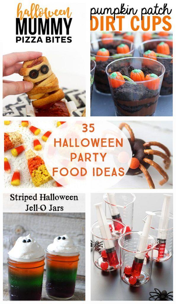 35 Halloween Party Food Ideas Preschool halloween party, Preschool - halloween treat ideas for school parties
