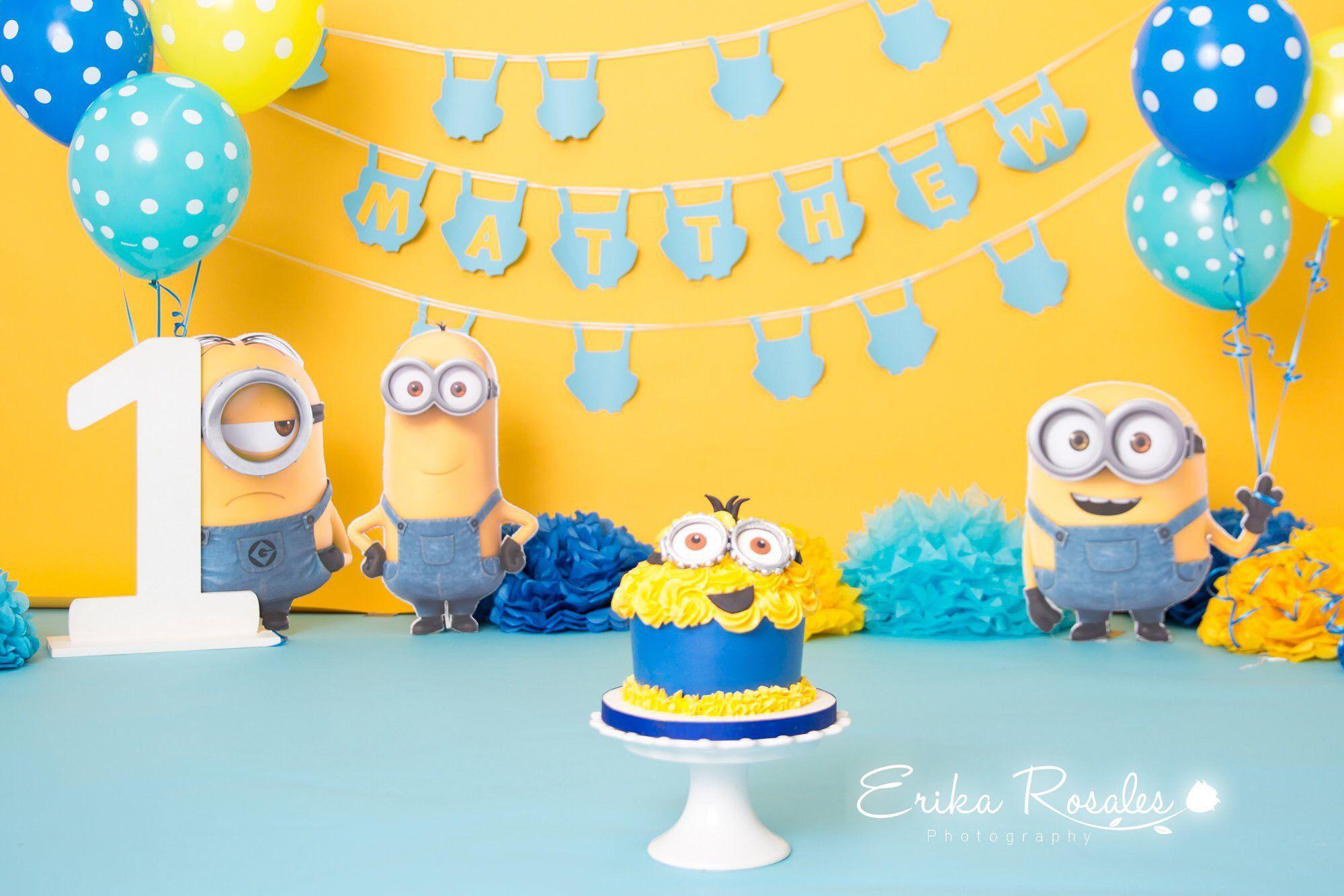 Pin On Cake Smash Baby Boys