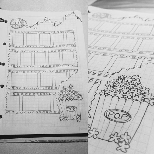 Como Poner Subtitulos A Popcorn Time Bullet Journal Peliculas Por Ver Bulletjournal Agenda Diario Peliculas Cuaderno De Tareas Cuaderno De Notas Agendas
