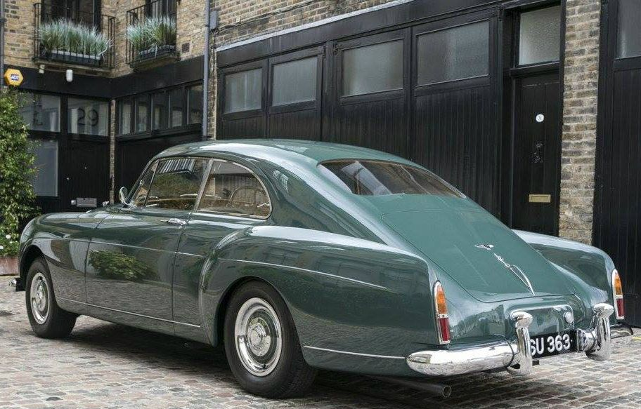 Chassis BC23LF (1956) Fastback Sports Saloon By H.J. Mulliner (design 7400)