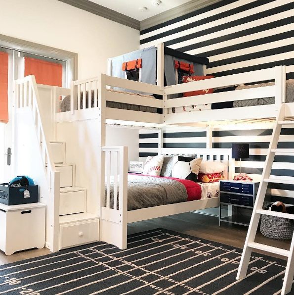 combine two or more beds corner lofts, triple \u0026 quad bunks corner