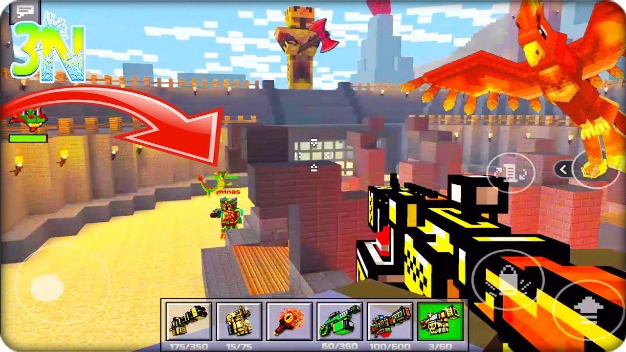 Pixel Gun 3d 191 Duelo A Muerte En El Coliseo Español Latino