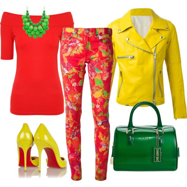 Spring 2. by szunda on Polyvore featuring Jane Norman, S.W.O.R.D., Ralph Lauren Blue Label, Christian Louboutin and Furla
