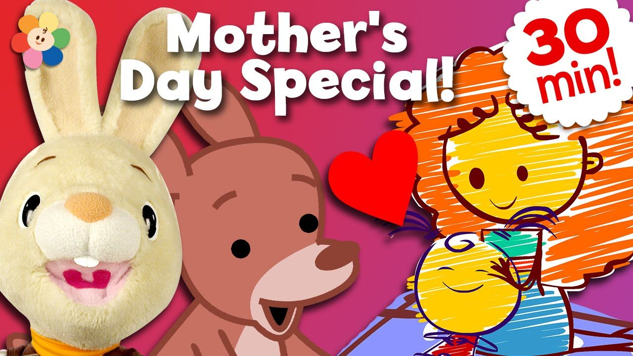 Happy Mother S Day Half Hour Compilation Of Mothers Day Songs For Kids Tv Episodes Mom Songs Mothers Day Songs Mom Song Kids Songs