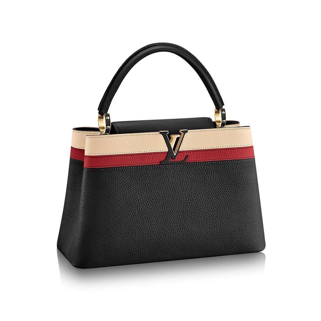 470a59ee3 Bolsa Louis Vuitton Elegant Capucines Premium Confira todos os modelos de  bolsas da marca Louis Vuitton