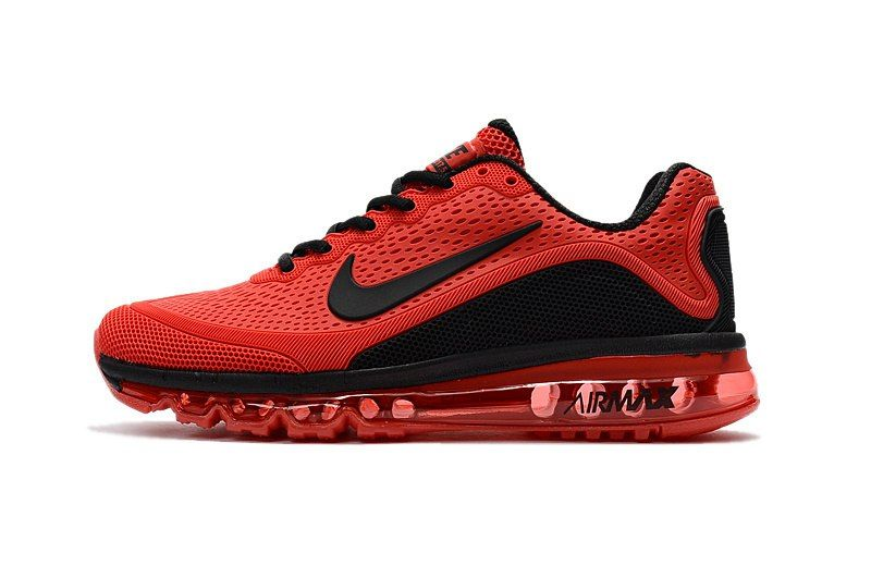 0e6fb6859e33 New Coming Nike Air Max 2017 5Max KPU Red Black