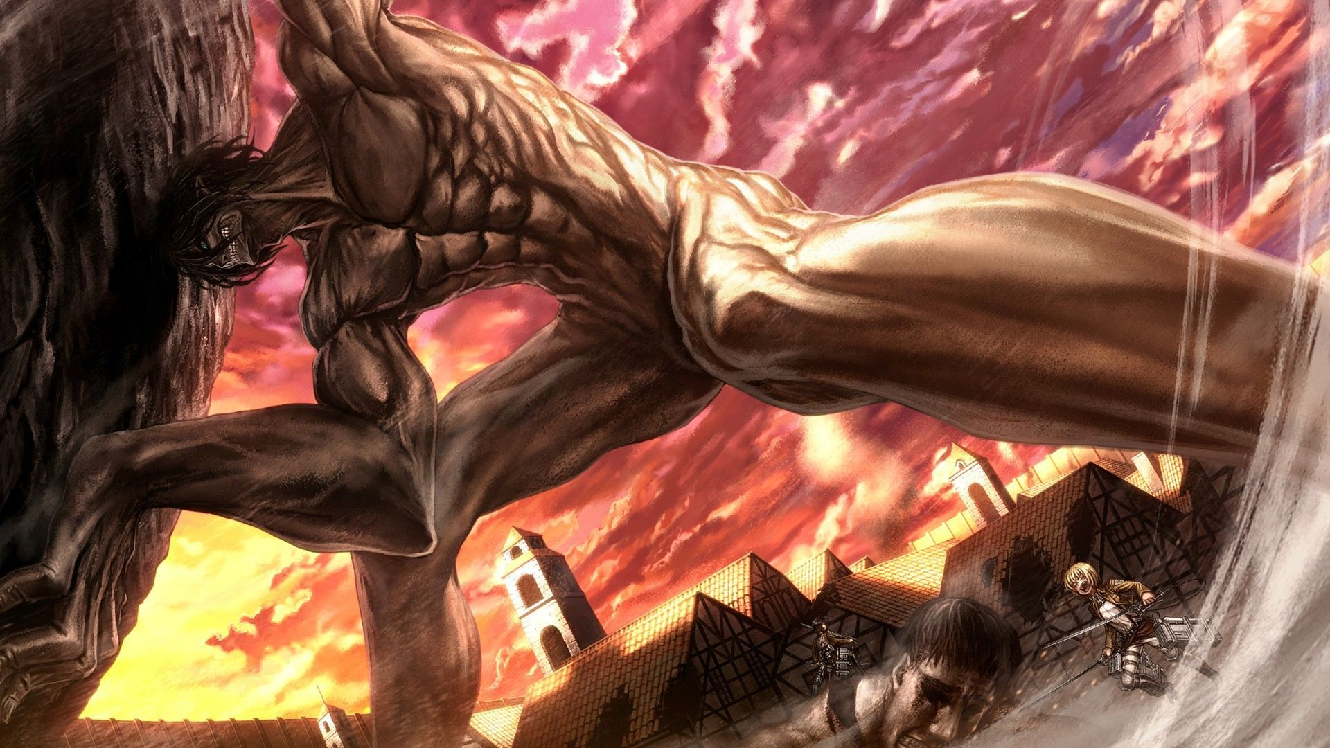 Attack On Titan Wallpaper Eren Attack On Titan Attack On Titan