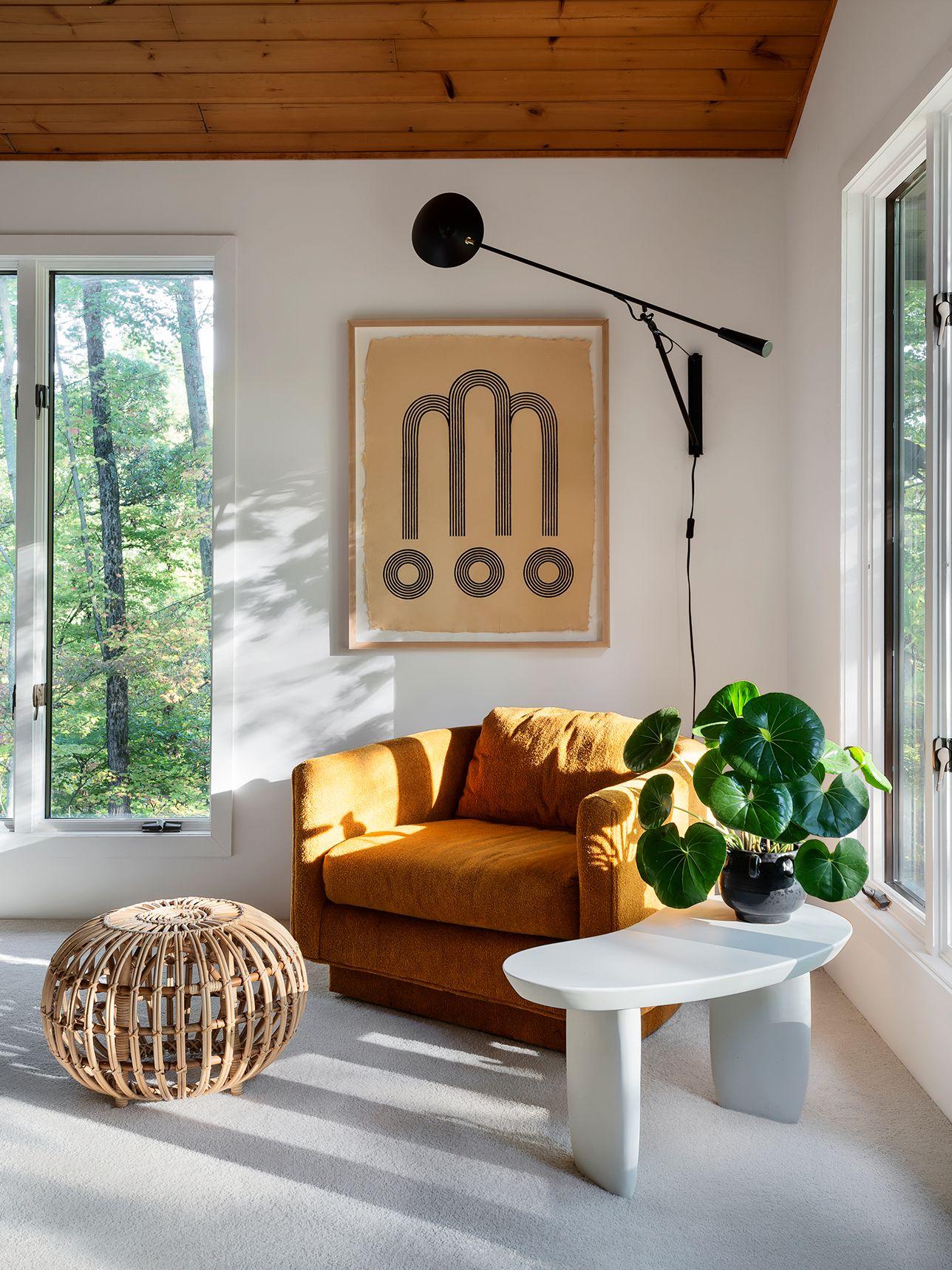 Sarah Sherman Samuel S Sunny Reading Nook Is A Space Worth Emulating Living Room Corner Decor Home Decor