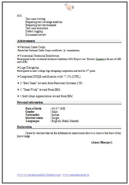 Resume Xml Format Resume Format Download Resume Format Resume Format In Word