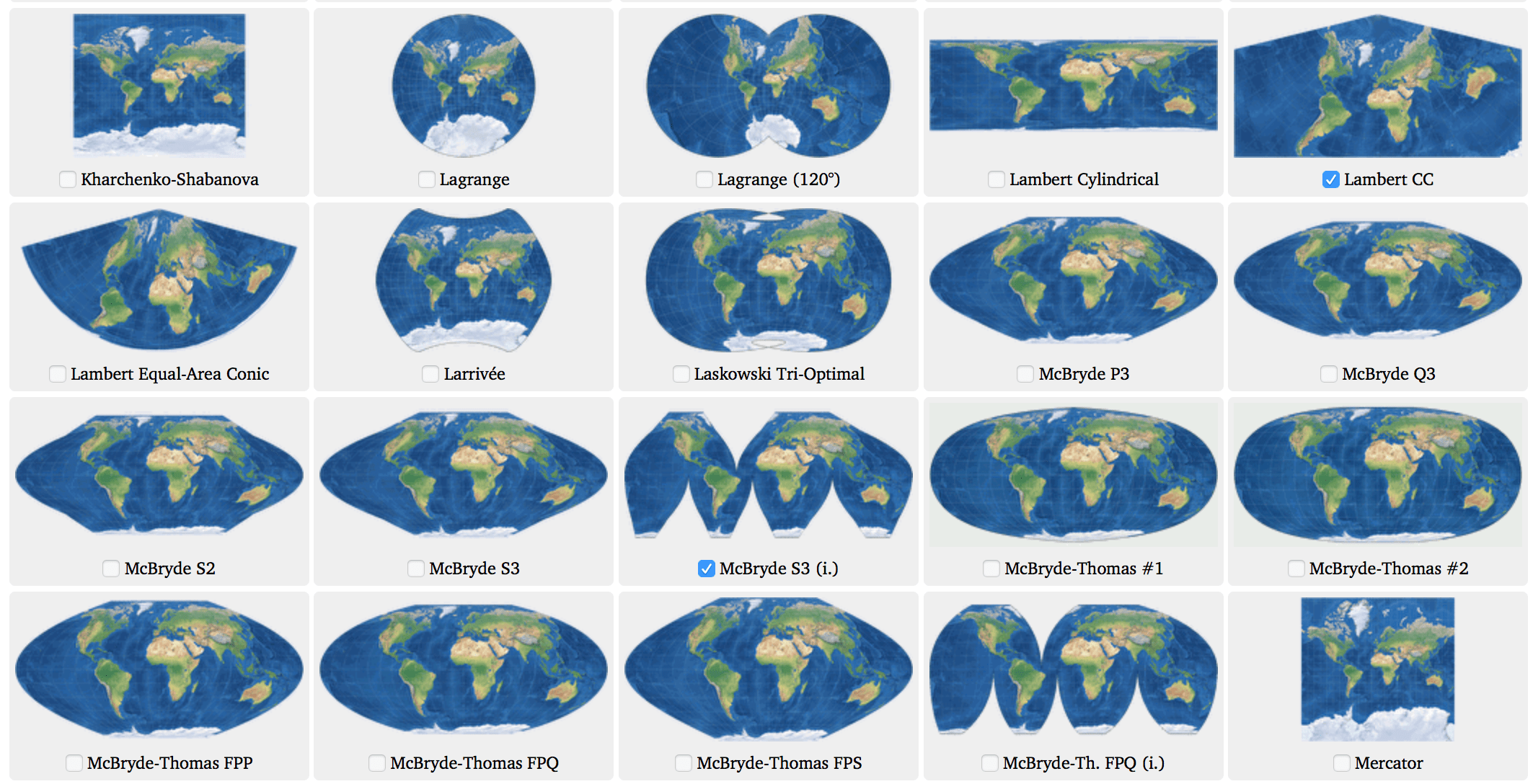 Image result for map projections