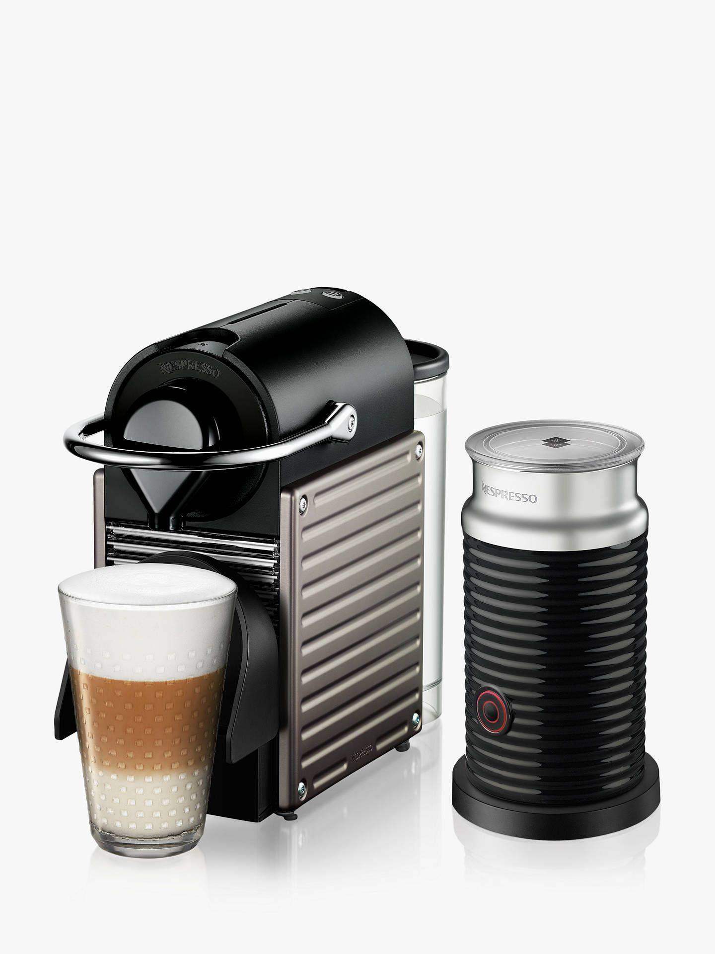 Nespresso Krups Pixie Xn305t40 Coffee Machine Aeroccino3 Milk
